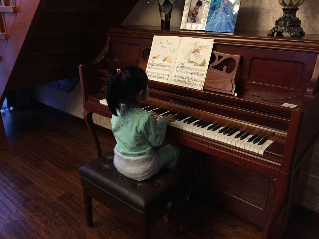 欧式复古钢琴,青岛哪家琴行卖的好图片