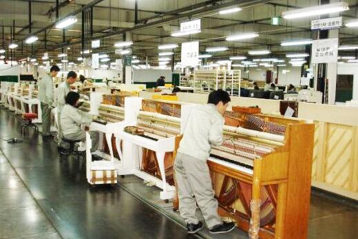 青岛和乐琴行带您走进韩国本土的英昌钢琴产