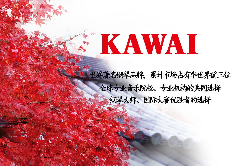 和乐琴行牵手亚洲第一品牌—卡瓦依钢琴