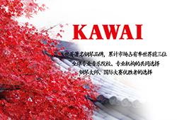 和乐琴行牵手亚洲第一品牌——卡瓦依钢琴